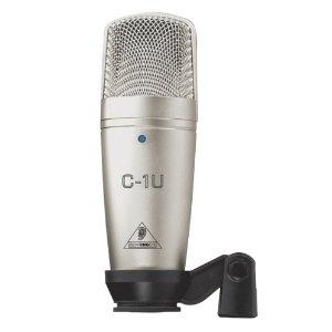 BEHRINGER C-1U STUDIO CONDENSER MICROPHONE C1U USB | eBay
